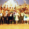 "Dan Yaden - 1970 (May) - Age 16 - As Dr. Glass in ""Carnival"" - 1st row, third from left - Selah High School - Selah, WA"