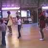 "Video Archive Clip 1987 (Aug) - Yaden Clogging - Dan & Julie (both age 33) dance the ""Bit by Bit"" routine with Danny (age 9) and Matthew (age 6) - Circle 8 Ranch Clogging Workshop - Cle Elum, WA (3 min 41 sec)"