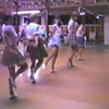 "Video Archive Clip 1988 (Aug) - Yaden Clogging - Julie (age 34) dances the ""Be There"" routine with her Tacoma clogging sisters (Sher, Mary, & Cathy) at the Circle 8 Ranch - Circle 8 Clogging Workshop with instructor Dave Roe - Cle Elum, WA - Danny (age 10), Matthew (age 7), Jacob (age 3) - Clogging Memoirs Series (3 min 58 sec)"