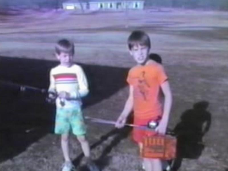 Video Archive Clip 1988 (May) - Yaden, Dan & Julie (age 34) - Corsicana Fishing Follies - Beaton Lake Estates Home - Corsicana, TX - Danny (age 10), Matthew (age 6) - Mixed Relations Series (9 min 53 sec)