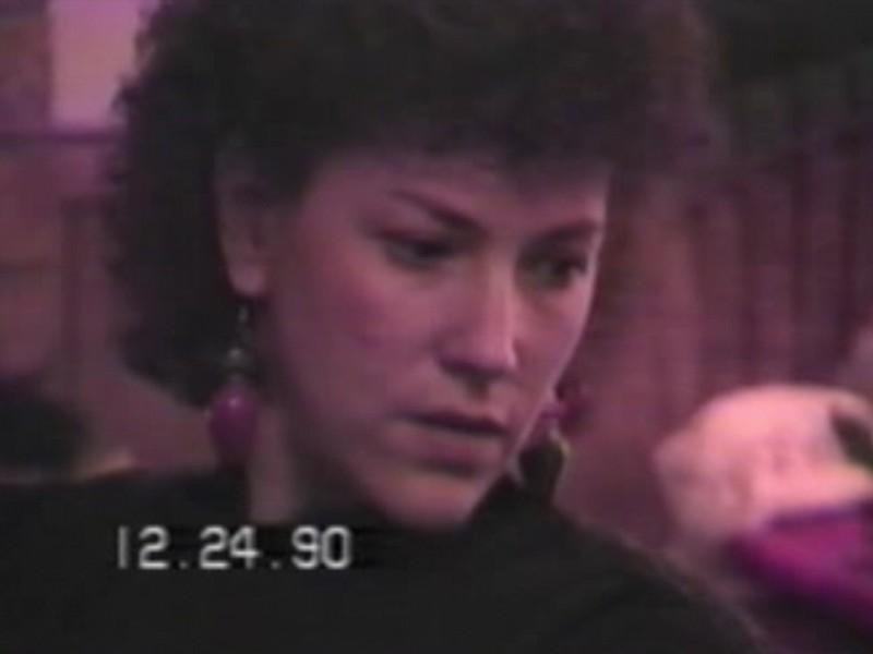 Video Archive Clip 1990 (Dec) - Yaden, Dan & Julie (both age 36) - Christmas Eve - Beaton Lake Estates Home - Corsicana, TX - Danny (age 12), Matthew (age 9), Jacob (age 6), Steven (age 2), Alex (age 8 mos) - Mixed Relations Series - Edited in December 1990 (15 min 28 sec)