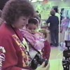 Video Archive Clip 1990 (Dec) - Yaden, Dan & Julie (age 36) - Picture with HEB Santa - Corsicana, TX - Danny (age 12), Matthew (age 9), Jacob (age 6), Steven (age 2), Alex (age 8 mos) - Mixed Relations Series - Edited in January 1991 (1 min 44 sec)