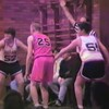 Video Archive Clip 1995 (Jan) - Yaden, Matthew J. - Age 13 - Matthew plays basketball (#25) - Game 2 - John Simpson Tygers vs St. Peter's Spartans - John Simpson Middle School - Mansfield, OH - Mixed Relations Series - Edited in February 1995 (3 min 19 sec)