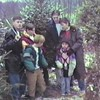 Video Archive Clip 1996 (Dec) - Yaden, Dan & Julie (both age 42) - Christmas tree hunt - Mansfield, OH - Danny (age 18), Matthew (age 15), Jacob (age 12), Steven (age 8), Alex (age 6) - Original VHS Series (5 min 12 sec)