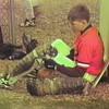 Video Archive Clip 1997 (May) - Yaden, Matthew J. - Age 15 - Matt plays baseball (#7, catcher) for Mansfield Sr. (Tygers) - Mansfield Senior High School - Mansfield, OH - Mixed Relations Series (5 min 56 sec)
