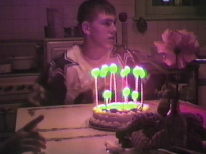 Video Archive Clip 1997 (July) - Yaden, Matthew J. - Matthew's 16th birthday (July 3) - Park Avenue West home - Mansfield, OH - Jacob (age 12), Steven (age 9), Alex (age 7), Julie & Dan (both age 43) - Mixed Relations Series (5 min 56 sec)