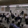 """Video Archive Clip 1997 (Aug 20) - Yaden Clogging - Julie (age 43, front row middle in white shirt) dances the """"Still In Love With You"""" routine - Free Spirit Cloggers Performance at the Randolph Fair - Randolph, OH - Clogging Memoirs Series (3 min 50 sec)"""
