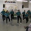 """Video Archive Clip 1998 (Aug 26) - Yaden Clogging - Julie (age 44, back row 2nd from left) and Steven (age 10, front row 3rd from left) dance the """"Ooh Ahh"""" routine - Free Spirit Cloggers Performance at Randolph Fair - Randolph, OH - Clogging Memoirs Series (3 min 17 sec)"""