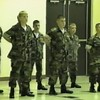 Video Archive Clip 1998 (Oct) - Yaden Boys - Matt (age 17), Jake (age 14), and Steve (age 10) graduate boot camp in Platoon 3000 of The North Central Young Marines - Mansfield, OH - Mixed Relations Series (15 min 2 sec)<br /> <br /> The Young Marines are funded by the Marine Corps League.  The organization has over 300 units in 46 states, with boys and girls ranging from age 8 to completion of high school.