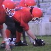 Video Archive Clip 1998 (Oct) - Yaden, Jacob B. - Jacob (age 14, #00) plays center for John Simpson Middle School football team in playoff game at Arlin Field - Mansfield, OH - Mixed Relations Series (10 min 15 sec)
