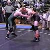 Video Archive Clip 1998 (Nov) - Yaden, Matthew J. - Age 17 - Matt (orange/brown singlet) wrestles for Mansfield Senior High School - Nov Match 2 - Mansfield, OH - Mixed Relations Series (3 min 35 sec)