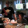 Video Archive Clip 1998 (May) - Yaden, Steven R. - Steven's 10th Birthday (May 16) - Mansfield, OH - Danny (age 20, home on leave from the Marine Corps), Matthew (age 16), Jacob (age 13), Alex (age 8), Mom (Julie, age 44) - Mixed Relations Series (5 min 7 sec)
