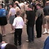 "Video Archive Clip 1998 (April 18) - Yaden Clogging - Julie (age 44), Jacob (age 13) & Steven (age 9) are dubbed part of ""The Fittest Five"" by instructor Steve Smith - Buffalo Clogging Workshop - Buffalo, NY - Clogging Memoirs Series (2 min 25 sec)"