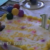 Video Archive Clip 1999 (May) - Yaden, Steven R. - Age 11 - Steven celebrates his 11th birthday (May 16) - Matt (age 17) with girlfriend Brittany Liles, Jacob (age 14) - Park Avenue West home - Mansfield, OH - Original VHS Series (3 min 43 sec)