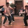 Video Archive Clip 1999 (May 29) - Yaden Clogging - Julie, Jake (age 14), and Steve (age 10) perform with the rest of the Free Spirit Cloggers in a reprise of the medley of Jeff Driggs routines as a tribute to the Hall of Fame clogger/instructor/choreographer - Memorial Day Weekend Clogging Workshop - Columbus, OH - Clogging Memoirs Series (7 min 10 sec)
