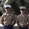 Video Archive Clip 1999 (Sep) - Yaden, Matthew J. - Age 18 - Matt graduates boot camp as a United States Marine - PART 3 OF 3 - Marine Corp Recruit Depot at Parris Island - Parris Island, SC - Danny (age 21, in uniform), Jacob (age 14), Steven (age 11), Alex (age 9), Julie & Dan (both age 45) - Original VHS Series (11 min 58 sec)