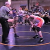 Video Archive Clip 1999 (March) - Yaden, Matthew J. - Age 17 - Matt (orange/white singlet) wrestles in an independent wrestling tournament - Columbus, OH - Mixed Relations Series (2 min 3 sec)