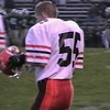 Video Archive Clip 1999 (Oct) - Yaden, Jacob B. - Age 15 - Jacob (#55, white/orange) plays JV football on both sides of the ball for Mansfield Senior High School - Mansfield Sr. Tygers vs Madison High Rams - PART 1 OF 2 - Mansfield, OH - Mixed Relations Series (14 min 50 sec)