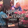 Video Archive Clip 2000 (Dec 31) - Yaden, Dan & Julie (both age 46) - New Year's Eve - Storm Mountain home - Drake, CO - Steve (age 12), Alex (age 10) - Original VHS Series (8 min 41 sec)