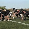 Video Archive Clip 2003 (Sep) - Yaden, Steven R. - Age 15 - Steve (#46, black uniform) plays JV football (fullback) for the Thompson Valley Eagles - Game 1 - Thompson Valley High School - Loveland, CO - Mixed Relations Series (12 min 35 sec)