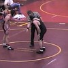 "Video Archive Clip 2003 (Jan) - Yaden, Steven R. - Age 14 - Steve (gold/black singlet) wrestles for the Thompson Valley High School ""Eagles"" - Jan match 1 - Northern Colorado - Mixed Relations Series (3 min 18 sec)"