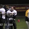 Video Archive Clip 2004 (Oct) - Yaden, Steven R. - Age 16 - Steve (#35, white jersey) plays varsity football for the Thompson Valley Eagles.  During his junior year Steve shared fullback duties with senior Greg Gephart   - Game 1 - Thompson Valley High School vs Loveland High School - Ray Patterson Field - Loveland, CO - Mixed Relations Series (6 min 59 sec)