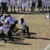 Video Archive Clip 2005 (Nov 12) - Yaden, Steven R. - Age 17 - Steve (#33, fullback, white jersey) plays varsity football for Thompson Valley High School - Class 4A 1st Round State Playoffs - Thompson Valley Eagles defeat the Pine Creek Eagles at Pine Creek High School in Colorado Springs, CO - Final score Thompson Valley 14, Pine Creek 6 - Mixed Relations Series (11 min 9 sec)<br /> <br /> Note:  In 2005 the Thompson Valley Eagles captured their first Northern Conference title in 16 years under head coach Clint Fick.  They advanced to the Semifinal State Playoffs where they were defeated by the ThunderRidge Grizzlies.