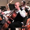 Video Archive Clip 2005 (Dec) - Yaden, Steven R. - Age 17 - Steven plays cello in the Christmas concert by the TVHS Chamber Orchestra - PART 1 OF 2 - Bob Kreutz, Orchestra Director - Thompson Valley High School Auditorium - Loveland, CO - Original VHS Series (19 min 56 sec)