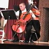 Video Archive Clip 2007 (May 3) - Yaden, Steven R. - Age 18 - Steven plays cello in the Doane College Strings Orchestra (Freshman year) - PART 2 OF 2 - Stacy Hanson Sands, Director of Strings - Heckman Auditorium at Doane College - Crete, NE - Original VHS Series (9 min 47 sec)