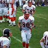 Video Archive Clip 2008 (Oct 11) - Yaden, Steven R. - Age 20 - Steven (#80, white jersey, tight end) plays football for the Doane Tigers (Junior year) - Matt Franzen, Head Coach - Simon Field at Doane College - Mixed Relations Series (8 min 51 sec)