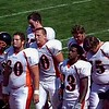 Video Archive Clip 2008 (Sept 20) - Yaden, Steven R. - Age 20 - Steven (#80, white jersey, tight end) plays football for the Doane Tigers (Junior year) - Matt Franzen, Head Coach - Doane College (Tigers) of Crete, NE vs Midland Lutheran College (Warriors) of Fremont, NE - Memorial Field at Midland Lutheran College - Mixed Relations Series (7 min 41 sec)