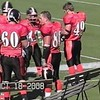 Video Archive Clip 2008 (Oct 18) - Yaden, Steven R. - Age 20 - Steven (#80, orange jersey, tight end) plays football for the Doane Tigers (Junior year) - Matt Franzen, Head Coach - Doane College vs Northwestern College - Simon Field at Doane College - Mixed Relations Series (5 min 38 sec)