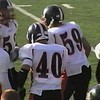 Video Archive Clip 2009 (Oct 17) - Yaden, Steven R. - Age 21 - Steven (#40, white jersey, tight end) plays football for the Doane Tigers (Senior year) - Matt Franzen, Head Coach - Doane College (Tigers) of Crete, NE vs Northwestern College (Red Raiders) of Orange City, IA - De Valois Stadium at Northwestern College - Mixed Relations Series (6 min 12 sec)