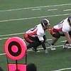 Video Archive Clip 2009 (Oct 3) - Yaden, Steven R. - Age 21 - Steven (#40, white jersey, tight end) plays football for the Doane Tigers (Senior year) - Matt Franzen, Head Coach - Doane College (Tigers) of Crete, NE vs University of Sioux Falls (Cougars) of Sioux Falls, SD - Bob Young Field at University of Sioux Falls - Mixed Relations Series (7 min 31 sec)