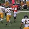 Video Archive Clip 2009 (Oct 24) - Yaden, Steven R. - Age 21 - Steven (#40, orange jersey, tight end) plays football for the Doane Tigers (Senior year) - Matt Franzen, Head Coach - Doane College (Tigers) of Crete, NE vs Dordt College (Defenders) of Sioux Center, IA - Simon Field at Doane College  - Mixed Relations Series (6 min 23 sec)