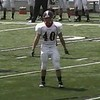 Video Archive Clip 2009 (Aug 29) - Yaden, Steven R. - Age 21 - Steven (#40, white jersey, tight end) plays football for the Doane Tigers (Senior year) - Matt Franzen, Head Coach - Doane College (Tigers) of Crete, NE vs Avila University (Eagles) of Kansas City, MO - Platte City Stadium at Avila University - Mixed Relations Series (3 min 34 sec)