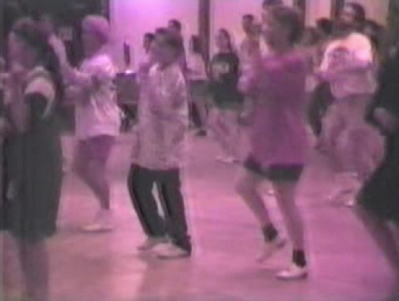 Clogging Time Warp 1997:  Julie & Jacob