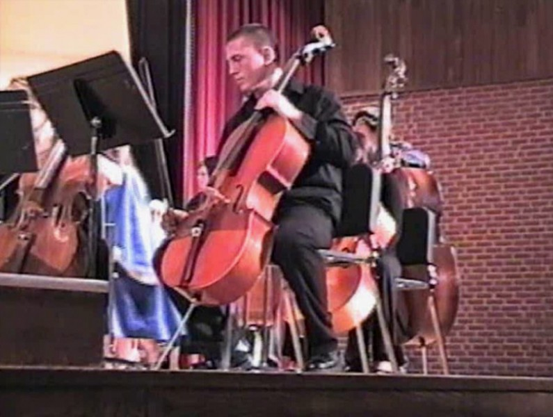 Yaden Time Warp 2008:  Steven's cello - Doane College concert