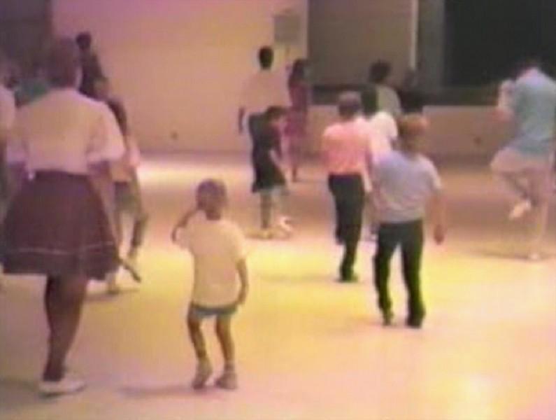 Clogging Time Warp 1988:  Jacob's signature 'ending move'