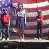 1990 - Julie, Danny & Matthew - Kerens Roundup
