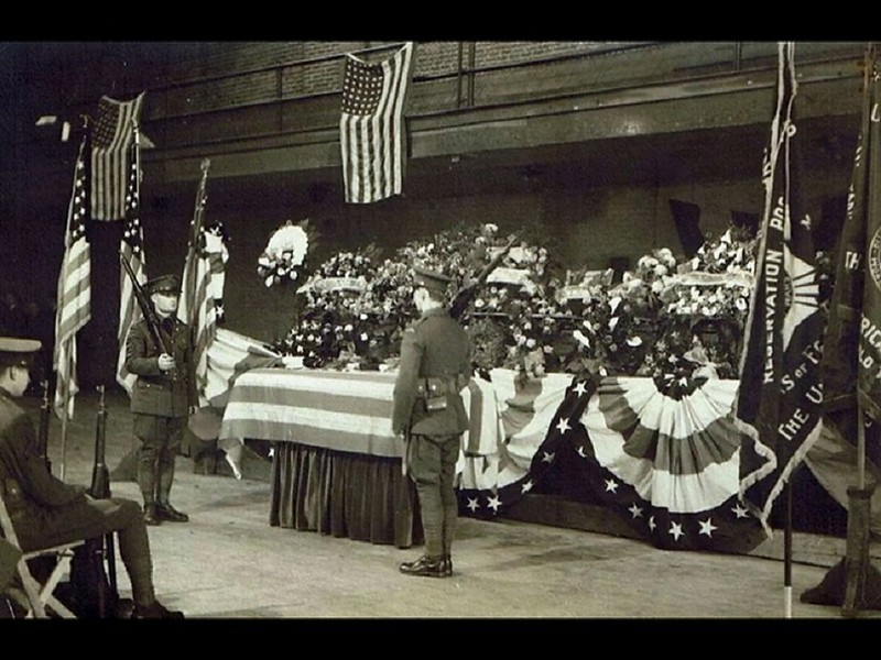 America Loses A Son:  Pvt. William David Yaden KIA WWI
