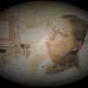 Jacob Benjamin Yaden - 1984 (Oct 18) - Mom (Julie) distracts herself with a Tootsie Roll Pop as she prepares for the long night ahead - Yakima Valley Memorial Hospital - Yakima, WA (Captured from 8mm film)