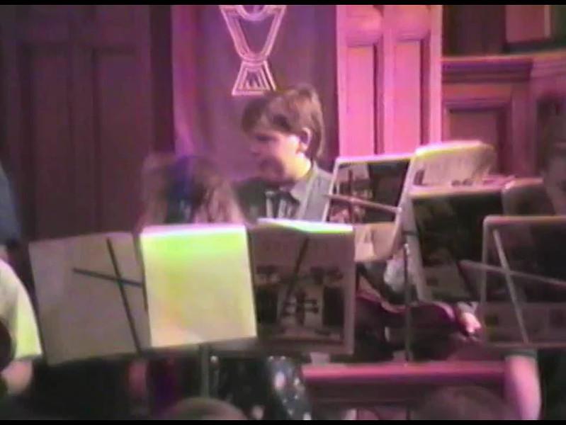 Video Archive Clip 1995 (4) - Yaden, Jacob B. - Age 10 - Strings Concert - Holy Trinity Lutheran Church - Mansfield, OH - Alex (Age 5) - Original VHS Series (9 min 11 sec)