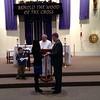 Jacob & Kristi Yaden - March 20, 2013 - Marriage validation ceremony - Jacob, Jr. (age 5) to left holding rings - St. John the Evangelist Catholic Church - Loveland, CO
