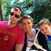 The Yadens of Ohio - 2013 (Nov 13) - Jake (age 29) & Kristi Yaden with son Jake, Jr. (age 6) at Disneyland - Anaheim, CA