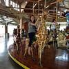 Kristi Yaden - 2013 (Aug 31) - Riding on the Richland Carrousel - Mansfield, OH