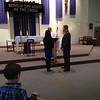 Jacob & Kristi Yaden - March 20, 2013 - Marriage validation ceremony - Jacob, Jr. (age 5) in lower left corner - St. John the Evangelist Catholic Church - Loveland, CO