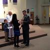 Jacob & Kristi Yaden - March 20, 2013 - Marriage validation ceremony - Jacob, Jr. (age 5) to left - St. John the Evangelist Catholic Church - Loveland, CO