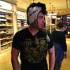 Jake Yaden - 2013 (Nov 15) - Age 29 - Sporting the latest fashions at Disneyland - Anaheim, CA