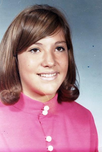 Julie Ann Schreiner - 1967 - Age 13 - School photo - Yakima, WA